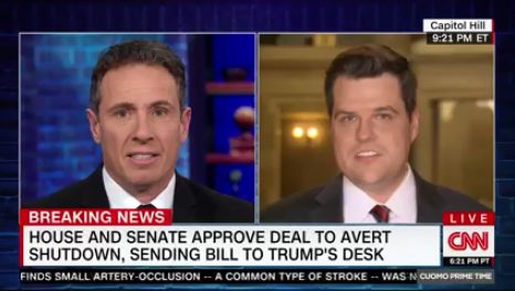 Chris Cuomo Says Sean Hannity, 'Is Without Question the Most Powerful Person in the Media'