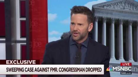 Morning Joe Refers to Thursday Conversation With Former GOP Congressman Aaron Schock as 'Exclusive,' Even Though It Technically Wasn't