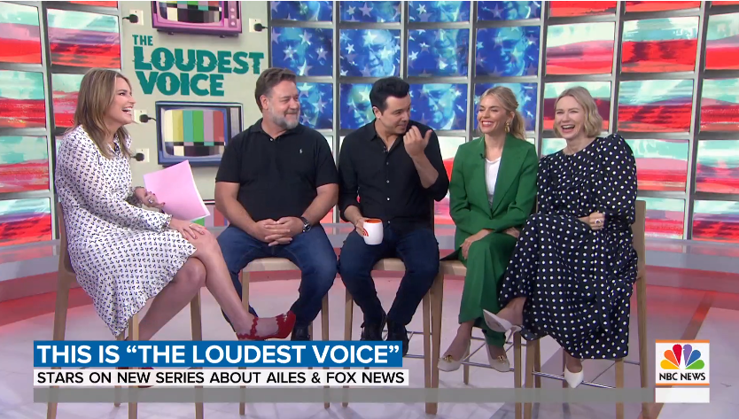 The Actors Who Play Fox Newsers From the Ailes Era Appear on Today Show