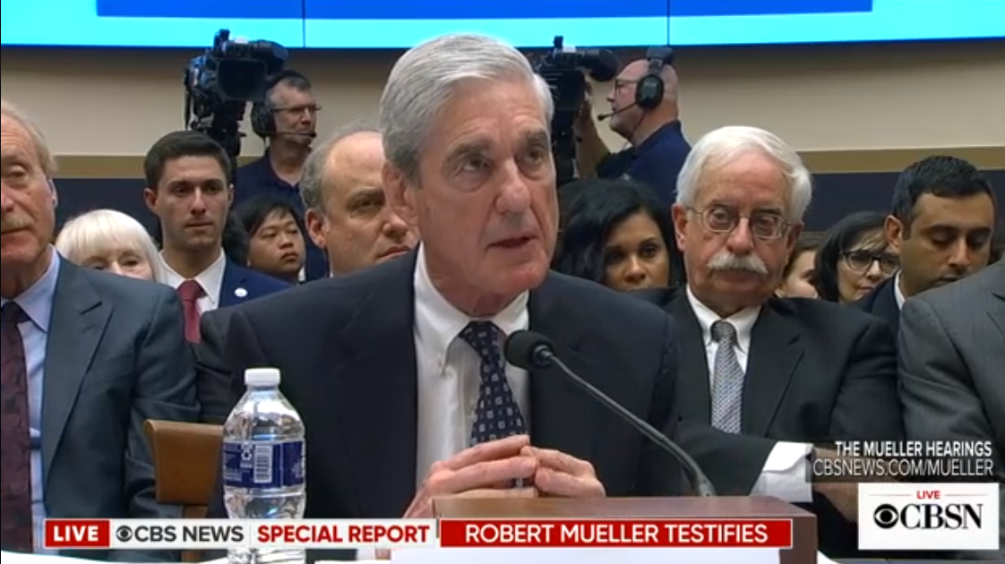 Here's How Some TV Newsers Are Reacting to Robert Mueller's Testimony