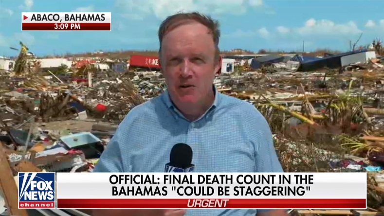 Fox News Correspondent Steve Harrigan Is Reporting From