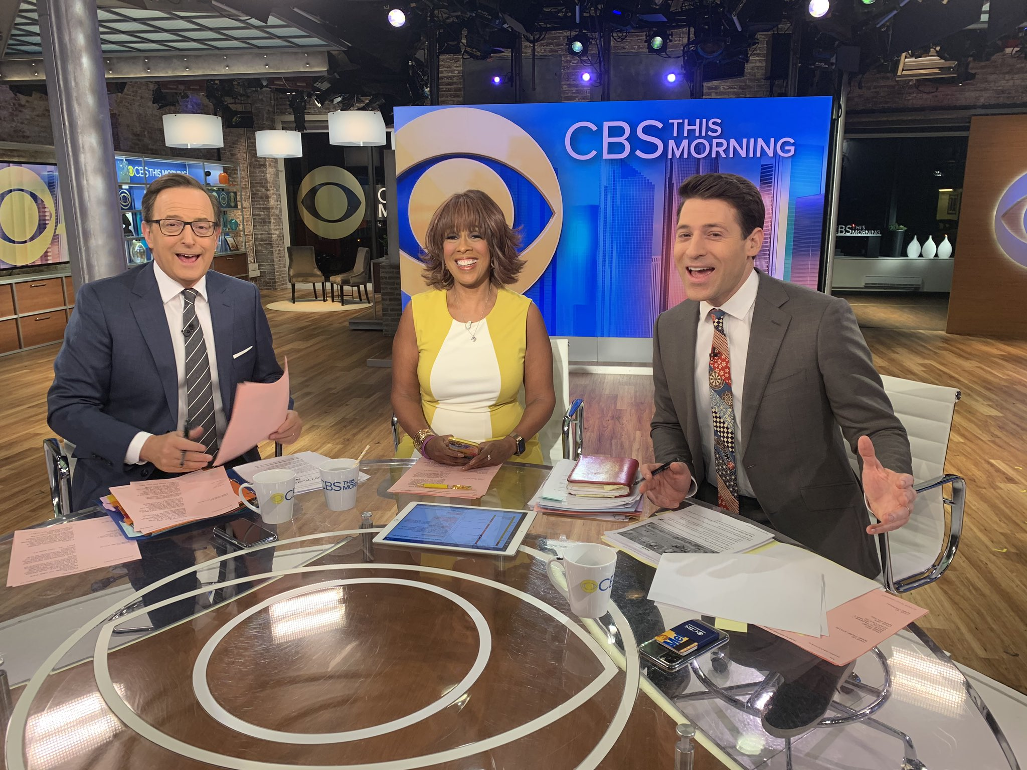 Gayle King Broke Out Her Signature Yellow Dress for CBS This Morning's 8th Birthday