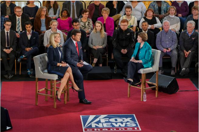 Fox News to Host Town Hall With Amy Klobuchar Next Thursday