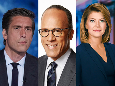 Week of July 27 Evening News Ratings: World News Tonight Marks 9 Straight Weeks as America's Most-Watched Show