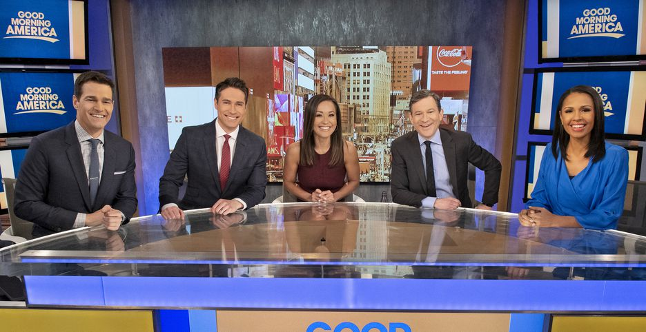 good morning america cast today