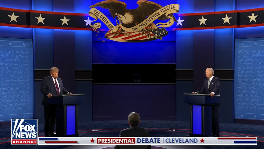 TV Newsers React to First Trump-Biden Debate of 2020: 'That Was the Worst Debate I Have Ever Seen'
