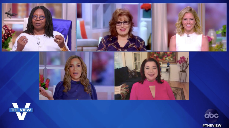 Here's Who Rocked Purple This Morning in a Show of Support for LGBTQ Young People