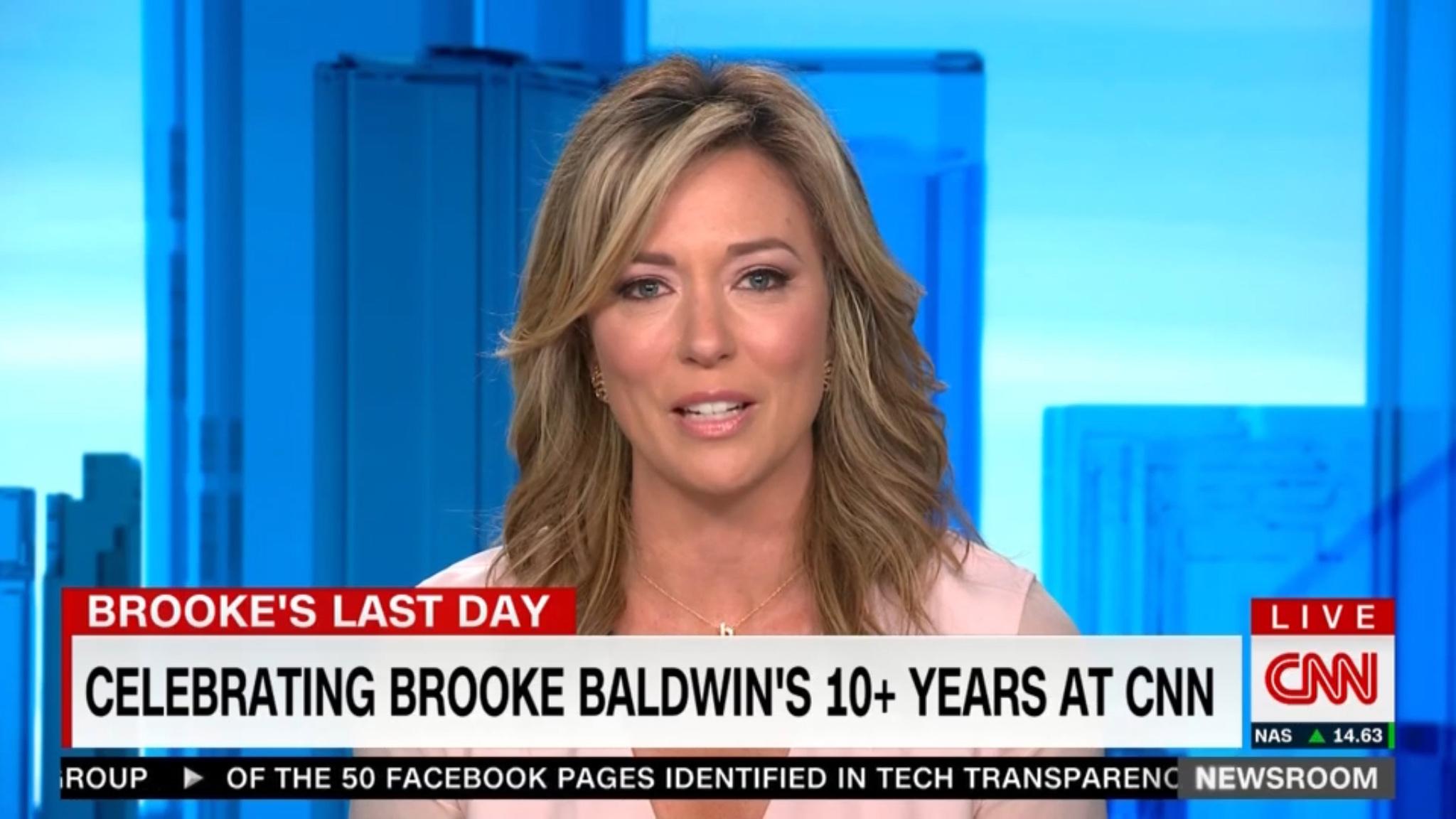 Brooke Baldwin Bids Adieu to CNN