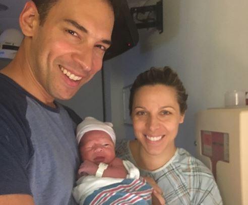 Wnbcs Stefan Holt Becomes A Dad Tvspy