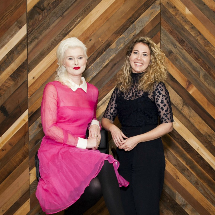 Kate Catalinac and Corinne Goode