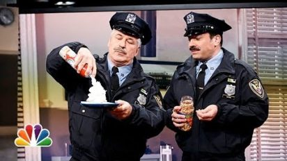 If only all cops were like Jimmy Fallon and Alec Baldwin