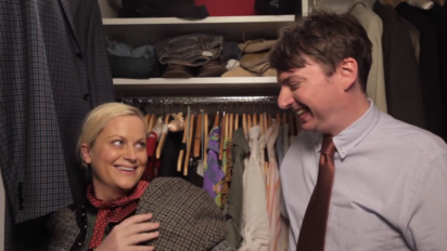 amy poehler snl parks and rec mike o'brien 7 minutes in heaven above average