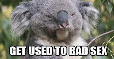 bad relationship advice koala