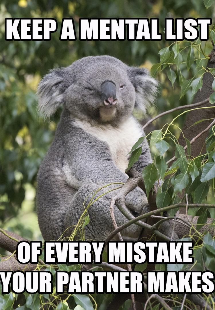 Bad Relationship Advice Koala