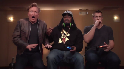 Marshawn Lynch, Rob Gronkowski and Conan Fight to the Death