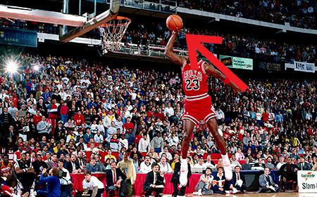 Jordan Slam Dunk Competition