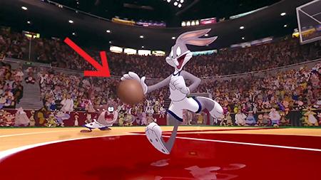 space jam basketball