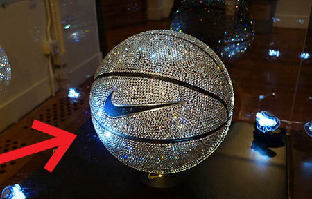 swarovski basketball