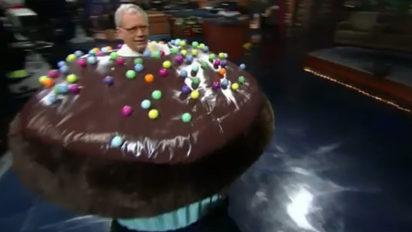 letterman cupcake