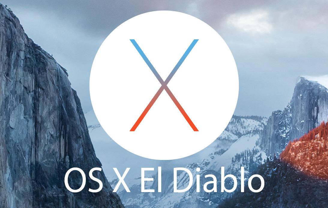 OS X El Diablo