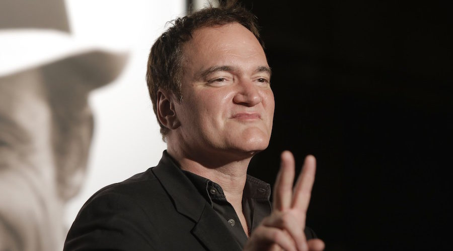"""Tarantino: """"Why Watch Netflix When You Can Watch Expensive Film Prints in your Personal Theater Like Me?"""""""
