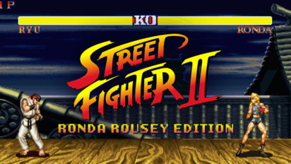 If Ronda Rousey Were In Street Fighter 2