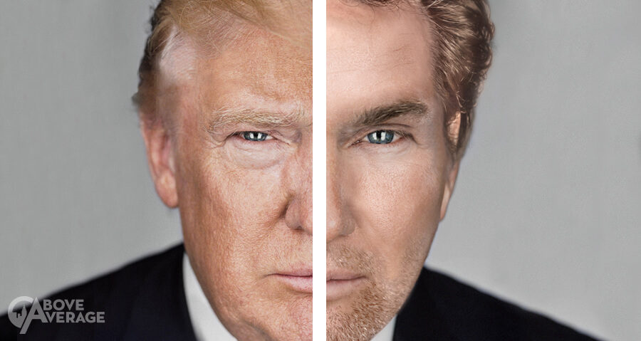 We Photoshopped Donald Trump to Look as Hot as Possible