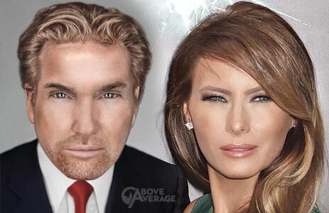 hot trump and melania