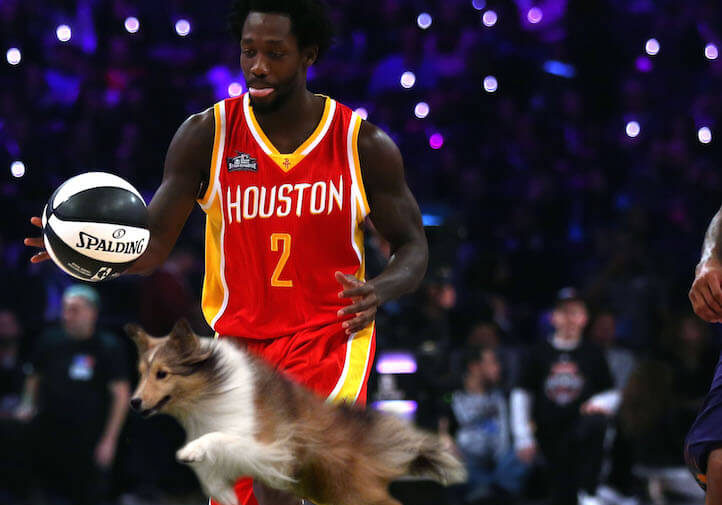 NBA Skills Challenge To Include Dog Agility Course