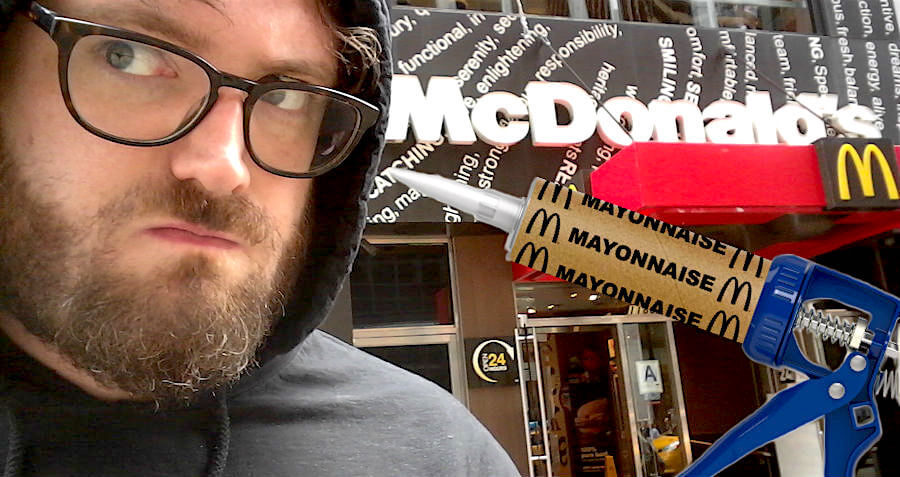 McDonald's, I Know About The Mayonnaise Gun And I'm Going To Steal It
