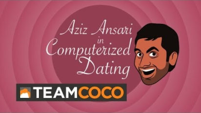 Aziz Ansari Explains Steamy Computerize Dating To Conan O'Brien