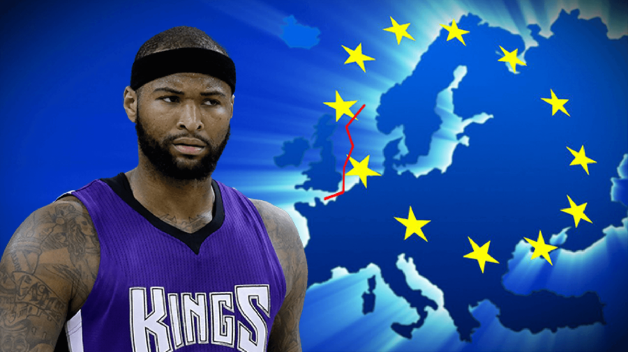 "Boogie Cousins:  ""Can I Do That Brexit Thing But With The Kings?"""