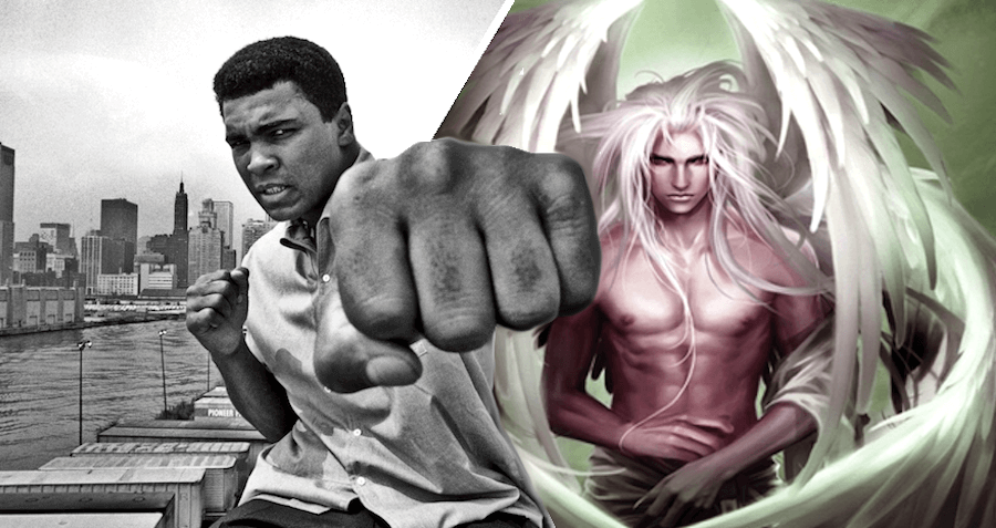 Heavyweights At The Pearly Gates: Muhammed Ali Scheduled To Box An Angel