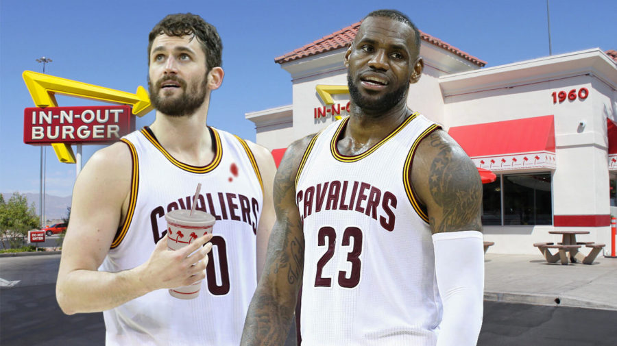 LeBron Consoles Kevin Love By Taking Him To In-N-Out