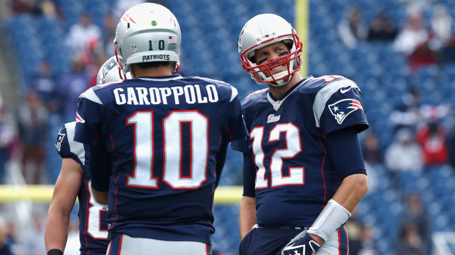 Brady Already Mentoring Garropoppollolo On Shortening Name