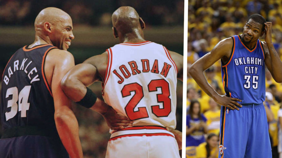 """Barkley To Durant: """"If You Want A Ring, Just Get MJ Super Drunk"""""""