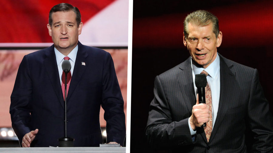 Report: Vince McMahon Was Behind Ted Cruz Turning Heel