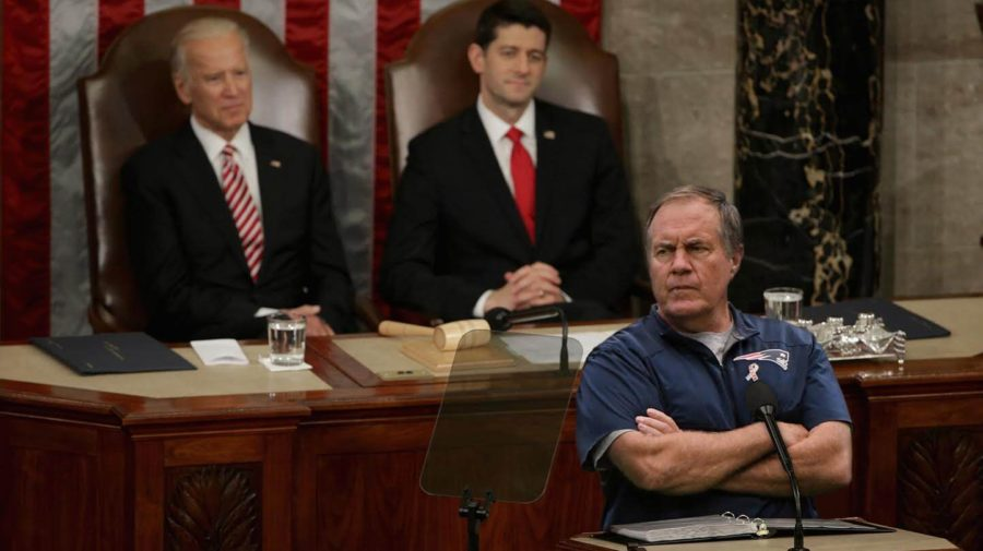 """President Obama Brings In Bill Belichick To Coach Congress To """"Do Its Job"""""""