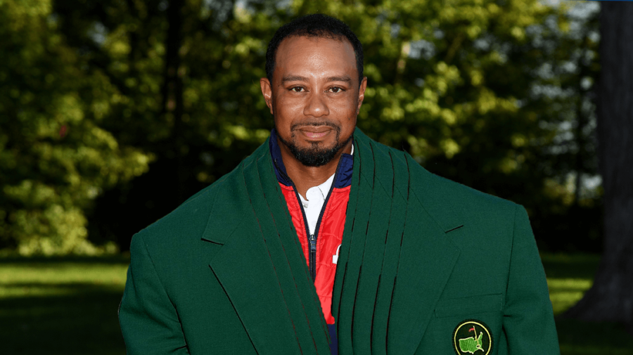 Shows Up To Ryder Cup Wearing All 4 Green Jackets