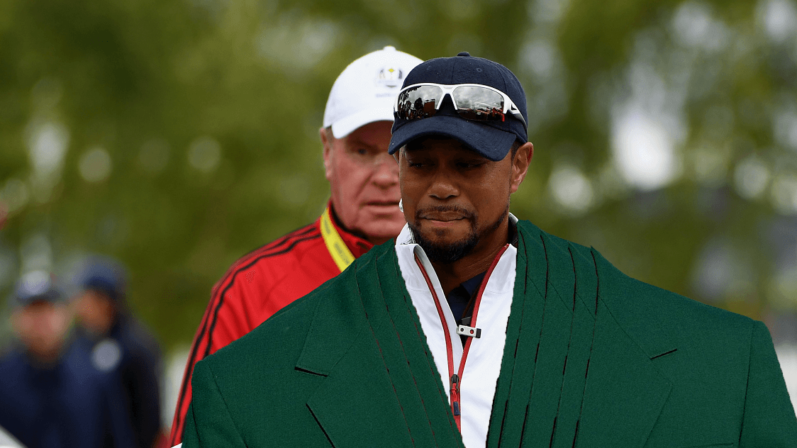 How Many Green Jackets Does Tiger Woods Have - Coat Nj