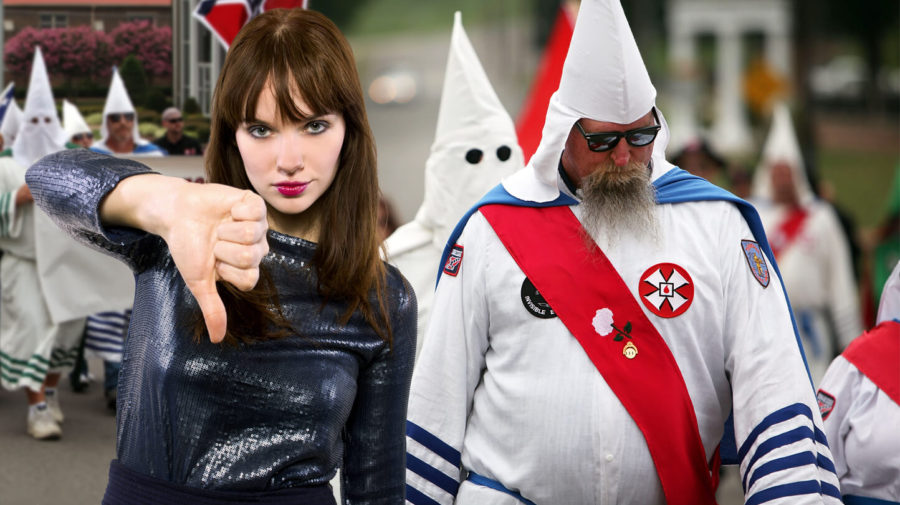 Fashion Fail! Ku Klux Klan Continue Wearing White After Labor Day