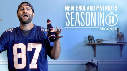 New England Patriots Fans' Season In 60 Seconds