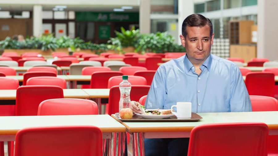 "Cruz: ""I Endorsed Trump And Still I Sit Alone In The GOP Cafeteria"""