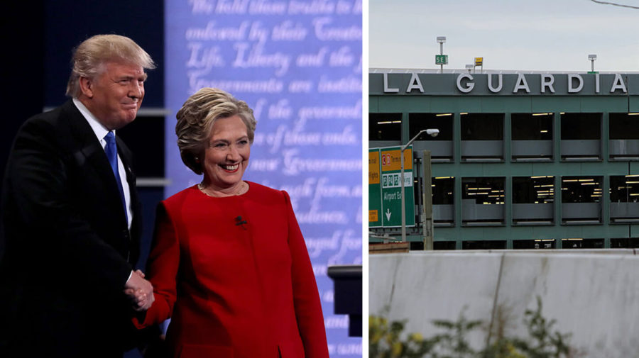 Common Ground! Trump And Hillary Agree LaGuardia Airport Is Terrible