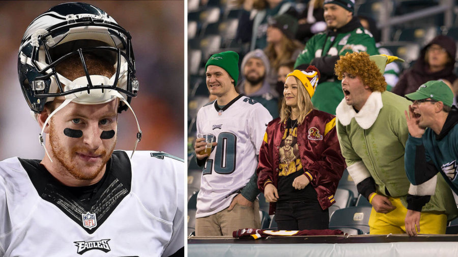 """Wentz: """"I'm 1 Bad Pass From Taking A Glass Shard Snowball To The Face"""""""