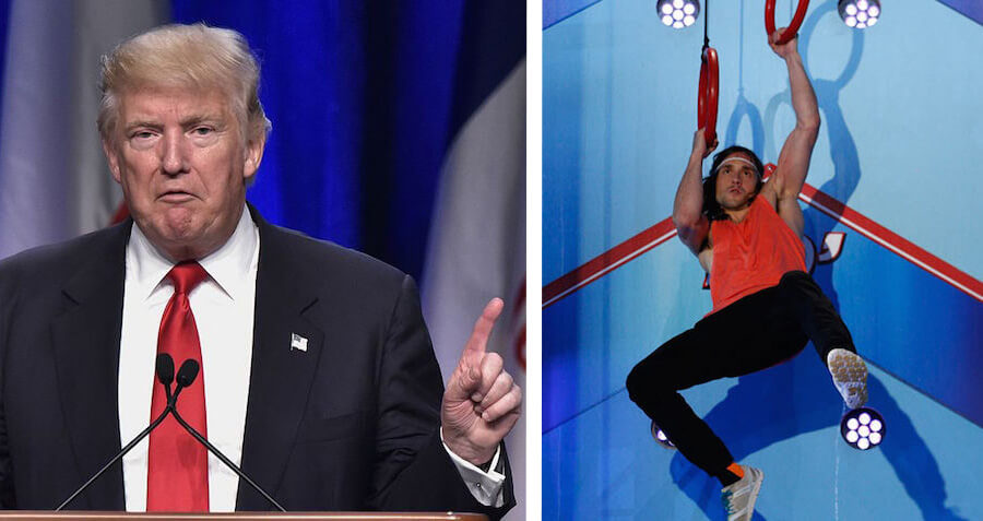 Trump Vows to Send Team Of American Ninja Warriors To Stop ISIS