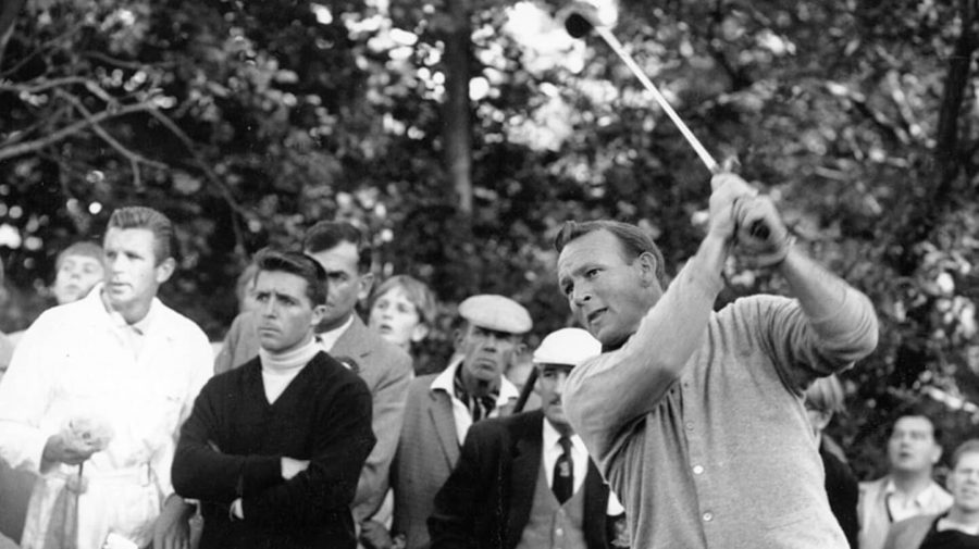 """Mourners Lower Arnold Palmer's Casket Muttering """"Get In The Hole"""""""