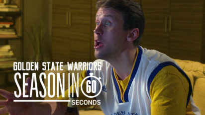 Golden State Warriors Fans' Season in 60 Seconds