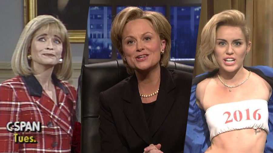 A History Of Hillary Clinton (Impressions) On SNL
