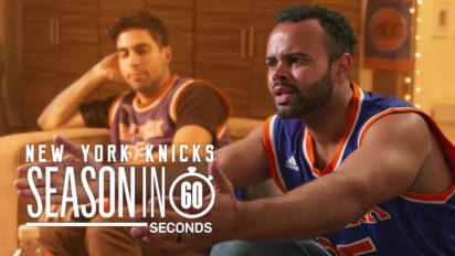 New York Knicks Fans' Season in 60 Seconds